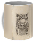 Architectural Motif With A Landscape Coffee Mug