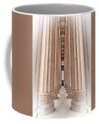 Architectural Pathway Of Pillars Coffee Mug