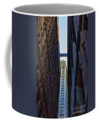 Architecture New York City The Crossing  Coffee Mug