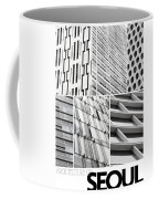 Architecture Of Seoul Coffee Mug by Nancy Ingersoll