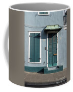 Architecture Of The French Quarter In New Orleans Coffee Mug