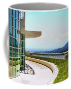 Architecture View Getty Los Angeles  Coffee Mug