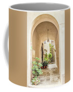 Archway And Stairs In Italy Coffee Mug