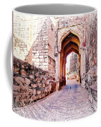 Archways Ornate Palace Mehrangarh Fort India Rajasthan 1a Coffee Mug