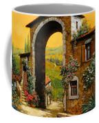 Arco Di Paese Coffee Mug by Guido Borelli