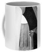 Arcs And Tangents Houston Water Wall In Black And White Coffee Mug