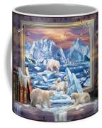 Arctic Bears Coming Coffee Mug