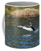 Arctic Loon Take Off Coffee Mug