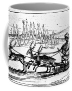 Arctic Sledding, C1618 Coffee Mug