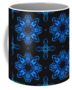 Area Blue Abstract Coffee Mug