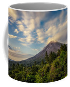 Arenal At The Sun's Last Touch Coffee Mug