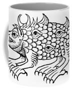 Argus Sea Monster, 1537 Coffee Mug