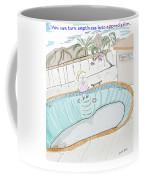 Arial Skates Pools Coffee Mug