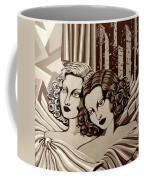 Arielle And Gabrielle In Sepia Tone Coffee Mug