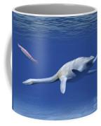 Aristonectes Plesiosaur Attempts Coffee Mug