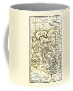 Arizona Territory Antique Map 1891 Coffee Mug