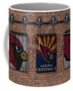 Arizona Cardinals Brick Wall Coffee Mug