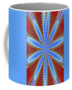 Arizona Saguaro Forest Abstract #2 Coffee Mug
