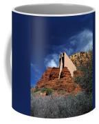 Arizona, Sedona  Chapel Of The Holy Cross Coffee Mug