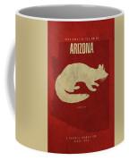 Arizona State Facts Minimalist Movie Poster Art Coffee Mug