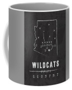 Arizona Wildcats / Ncaa College Football Art / Tucson Coffee Mug by Damon Gray