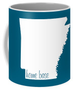 Arkansas Is Home Base White Coffee Mug