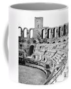 Arles Amphitheater A Roman Arena In Arles - France - C 1929 Coffee Mug
