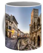 Arles Streets And Arena Coffee Mug