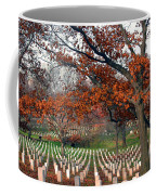Arlington Cemetery In Fall Coffee Mug by Carolyn Marshall