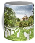 Arlington House Half Mast  Coffee Mug
