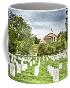Arlington House Half Mast  Coffee Mug