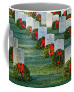 Arlington National Cemetery At Christmas Coffee Mug