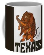 Armadillo Sheriff  Coffee Mug
