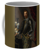 Armor With Blue And Gold Coffee Mug