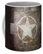 Army Star On Steel Coffee Mug
