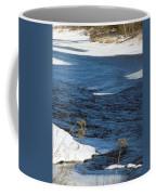 Aroostook River Below The Dam Coffee Mug