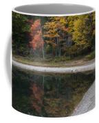 Around The Bend- Hiking Walden Pond In Autumn Coffee Mug