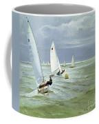 Around The Buoy Coffee Mug by Timothy Easton