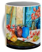 Arranging The Flowers Coffee Mug