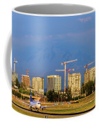Arrival By Air Coffee Mug
