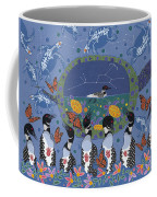 Arrival Of Wintermaker Coffee Mug