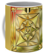 Art Deco Brass 2 Coffee Mug