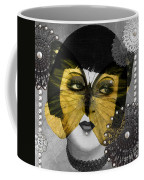Art Deco Butterfly Woman Coffee Mug