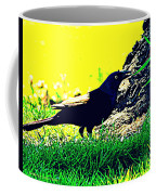 Art Deco Grackle Coffee Mug