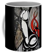 Art Deco Penis Painting Coffee Mug