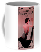 Art Deco Valentine Greeting Coffee Mug