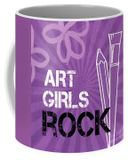 Art Girls Rock Coffee Mug