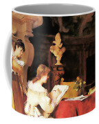 Art Lesson Coffee Mug