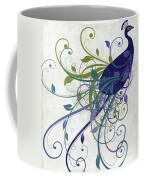 Art Nouveau Peacock I Coffee Mug