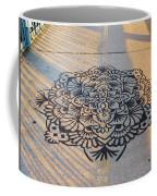 Art On Manhattan Bridge Coffee Mug